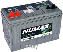 Numax 12V 105AH DC31MF Deep Cycle Leisure Marine Battery Motorhome Caravan Boat