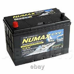 Numax CXV30HMF Sealed Leisure Battery 12V 105Ah 1000MCA 500 Cycles XV30HMF