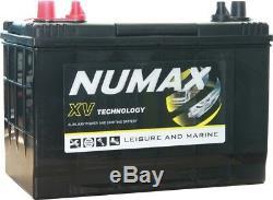 Numax Leisure Battery 12V 95AH Caravan Motorhome, Marine Boat x 3