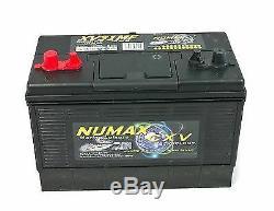 Numax XV31MF Heavy Duty Leisure Caravan Marine Boat Battery 12v 105 Ah