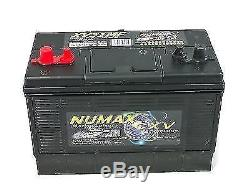 Numax XV31MF Heavy Duty Leisure Caravan Marine Boat Battery 12v 110 Ah
