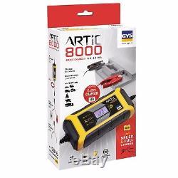 Optimiser 12v 8a Gys Artic 8000 Caravan Leisure Electronic Smart Battery Charger