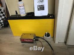 Pea Soup Mini Rocket Smoke Machine 12v DC & 155ahr Leisure Battery