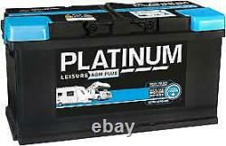Platinum AGM Plus Leisure Battery12V 100ah NCC Class A COLLECTION ONLY