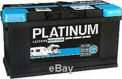 Platinum Agm Plus Leisure Battery 12v 100ah Agmlb6110l