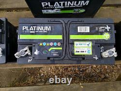 Platinum LB610L/S6110L 12V 110Ah Leisure Plus Batteries set of 4
