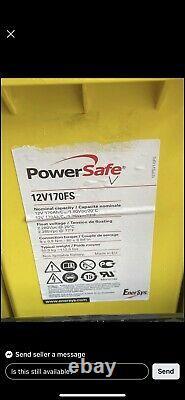 Powersafe Fs 12v-170ah Leisure /solar / Off Grid Power Batteries