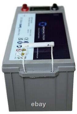 Premium Lithium 12V 200Ah LiFePO4 Leisure Battery RV Camper Boat Off Grid
