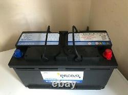 Probat Battery Heavy Duty Low Height (12v 125 Ah Amp) X2