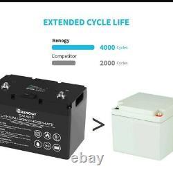 Renogy 12V 100Ah Heavy Duty Long Life Lithium Leisure Battery LiFePO4