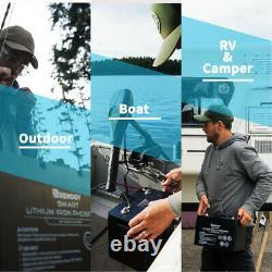 Renogy 12V 100Ah LiFePO4 Lithium Iron Phosphate Battery BMS Leisure campervan/RV