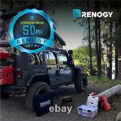 Renogy 12V 50Ah LiFePO4 Lithium Iron Phosphate Battery BMS Leisure campervan/RV