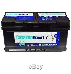 Rv Battery Wohnwagenbatterie 100Ah AGM Caravan Supply Battery