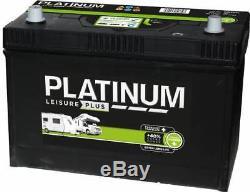 S6110L Platinum Leisure Plus Battery 12V 110Ah