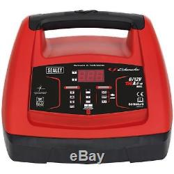 Sealey 150A Starter 20A Intelligent Speed Battery Charger Car Leisure Batteries