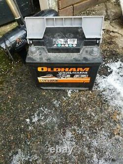 Sigma 44lb Electric Outboard Trolling Motor with 12V. 110A leisure battery