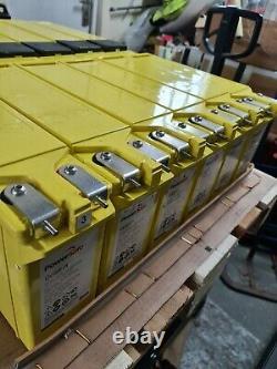 Six POWERSAFE FS 12V-101AH 0FF GRID (7.3KW) INVERTER LEISURE /SOLAR BATTERIES