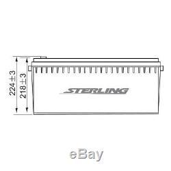 Sterling Hp200-12v 200 Ah Sla/vrla Sealed Back Up Power Leisure Battery
