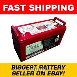 Sterling Power AMPS 12V 120Ah LiFePO4 Lithium Leisure Battery
