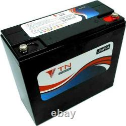 TN Power 12V 24Ah Lithium Leisure Battery for Golf & Mobility
