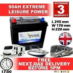 The Best Battery For Leisure Caravan, Boats, Marine 12volt 90 88 85 Amp Ah 95