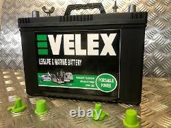 Traffic Lights 12v 90ah Hd Ultra Deep Cycle Extra Long Life Leisure Battery