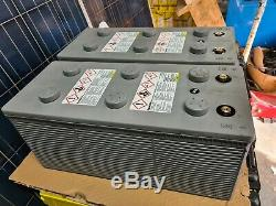 Two Deka Unigy High Rated 200ah (6kw) Leisure/solar Off Grid Power Batteries