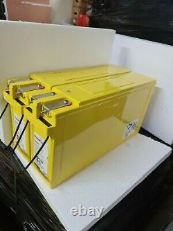 Two Powersafe Fs 24v-170ah (4.3kw) Leisure /solar / Off Grid Power Batteries