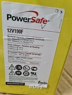 Two Powersafe Fs 24v-190ah 0ff Grid (4.56kw) Inverter Leisure /solar Batteries