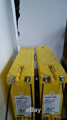 Two Powersafe Ft 92ah 12v-185ah Leisure /solar / Off Grid Power Batteries