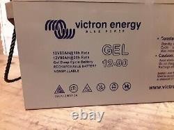 Two Victron Energy 12v 90AH Gel Leisure Batteries