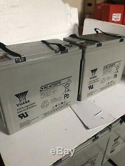Two YUASA SWL 150AH (4KW) LEISURE/SOLAR/INVERTER BATTERY For Home/Caravan/Boats