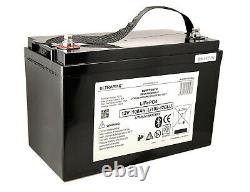 ULTRAMAX LEISURE BATTERY 12V 100Ah LITHIUM FOR MOBILE HOMES GOLF CARTS BLUETOOTH