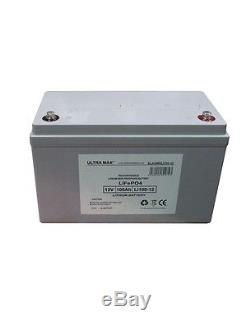 ULTRAMAX LITHIUM LiFePO4 LI100-12, 12V 100AH (as 90Ah) UPS BATTERY