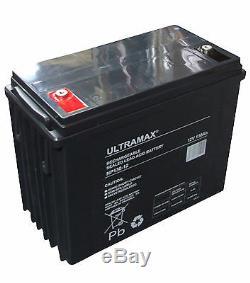 ULTRAMAX NP130-12, 12V 130Ah Sealed Lead Acid AGM VRLA Battery