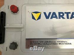 VARTA LFD230 12v 230Ah LEISURE BATTERY DUAL PURPOSE