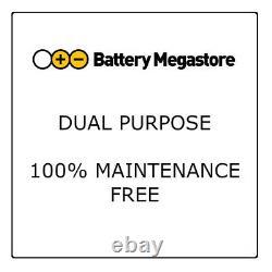 Varta LED240 Dual Purpose Leisure Battery