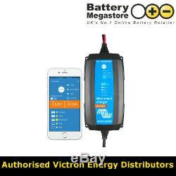 Victron Blue Smart IP65 Trickle Charger For Leisure Camper Batteries 12V 15Amp