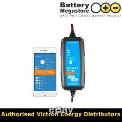 Victron Blue Smart IP65 Trickle Charger for Car & Leisure Batteries 12V 7Amp