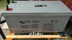 Victron Energy 12V 220Ah AGM Deep Cycle Leisure Battery BAT412201084 2nd hand