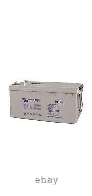 Victron Energy 12V 220Ah AGM Deep Cycle Leisure Battery M8 Terminal