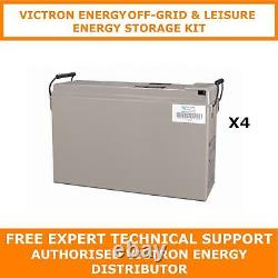 Victron Energy 48V AGM Battery Off-Grid & Leisure Energy Storage Kit