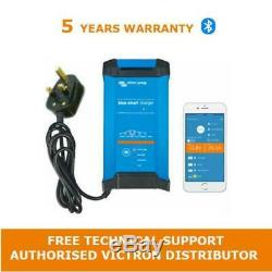 Victron Energy Blue Smart IP22 Leisure Battery Charger 12V 20Amp, 3 Output