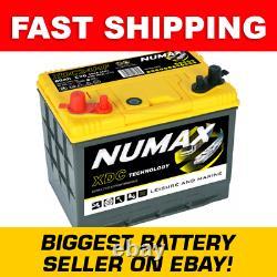 XDC24MF Numax Leisure Battery 12V 80Ah