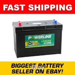 XV125MF Powerline Deep Cycle Leisure Battery Fast Delivery