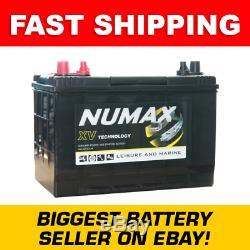 XV27MF Numax 95AH Leisure Battery Caravan Motorhome Marine LOW HEIGHT