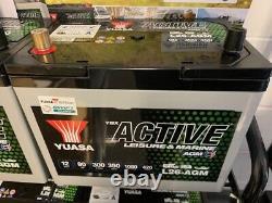 Yuasa L26-AGM Leisure & Marine Battery 12v 90Ah