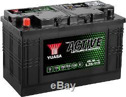 Yuasa L35-115 12V 115Ah 750A Leisure Battery
