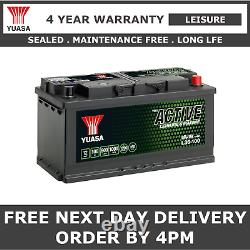 Yuasa L36-100 Leisure & Marine Battery 12V 100Ah 900A